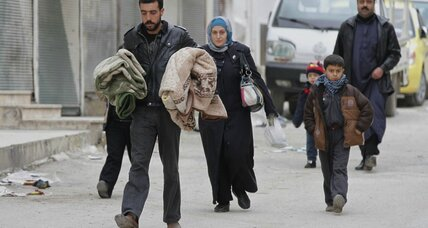 Syrians feel caught in an external power struggle, less willing to confront their own