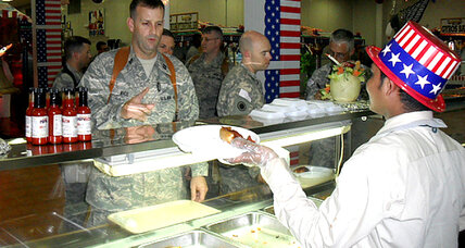 Super Bowl pizzas give US troops a taste of home