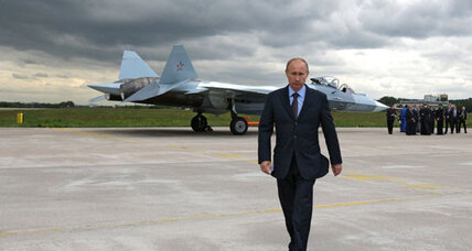 Fearing West, Putin pledges biggest military buildup since cold war