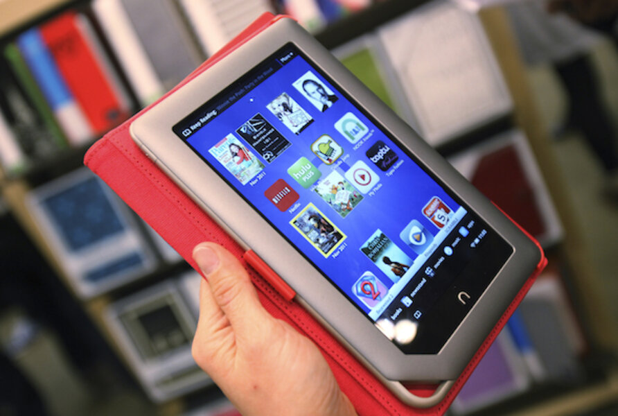 New Nook Tablet: Price is down, but so is memory capacity