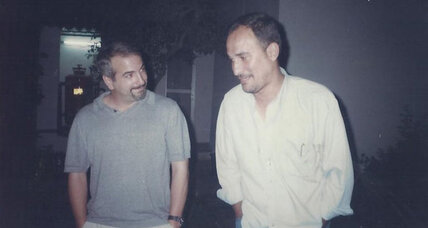 At work in Iraq with Anthony Shadid