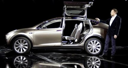 Tesla Model X: An SUV with wings. Sort of.