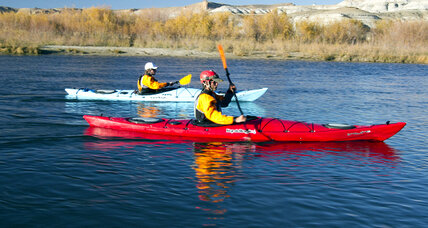 Paddling down the Colorado River to surface its secrets