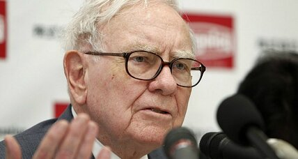 Warren Buffett ends rocky week by announcing heir apparent