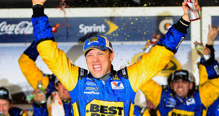 Fire and rain mar NASCAR Daytona 500, but Matt Kenseth wins