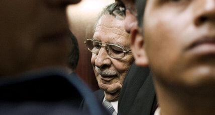 Judge steps down in Guatemala genocide trial
