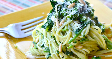 Meatless Monday: Linguini with creamy avocado sauce