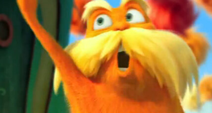 Super Bowl ad for 'The Lorax' features Danny DeVito and Ed Helms