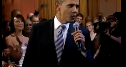 Obama sings the blues with Mick Jagger, B.B. King
