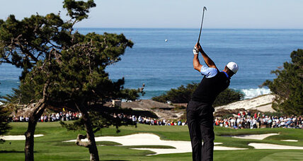 Tiger Woods returns to form at Pebble Beach