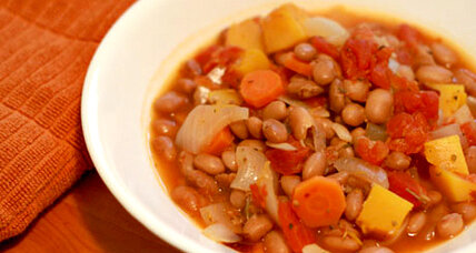 Meatless Monday: Winter squash and bean stew