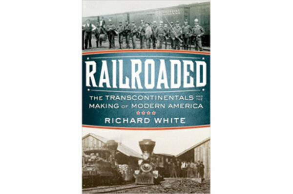RAILROADED, RICHARD WHITE 2011 PAPER BACK
