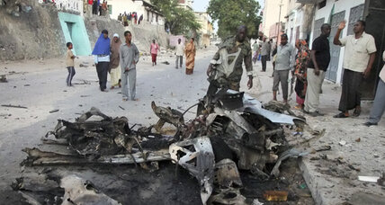 Somalia's Al Shabab launches suicide attack ahead of talks