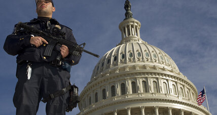 FBI arrests suspect in terror plot near US Capitol