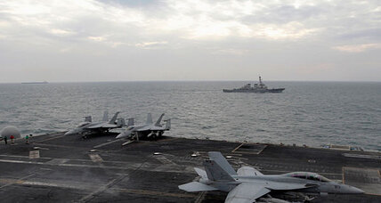 USS Abraham Lincoln returns to Persian Gulf shadowed by Iranian boats
