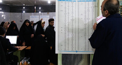 Iran trumpets high turnout in parliamentary elections