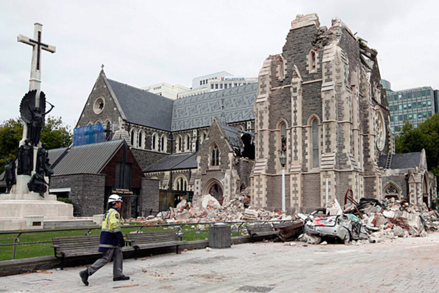 131-year-old New Zealand church to be demolished - CSMonitor com