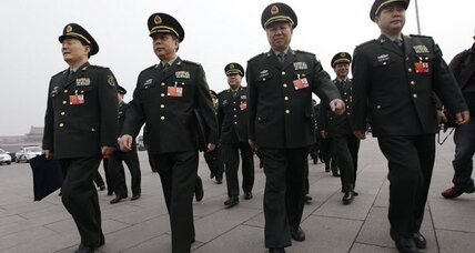 China plans double-digit boost in military spending