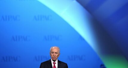 Shimon Peres: a dovish voice in Obama's ear