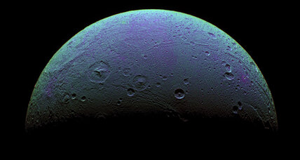 Oxygen atmosphere found on distant Saturn moon Dione