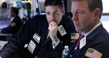 Stock market takes a dive, ending 2012 rally