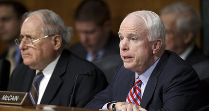 John McCain badgers Pentagon on Syria: 'We're not leading'