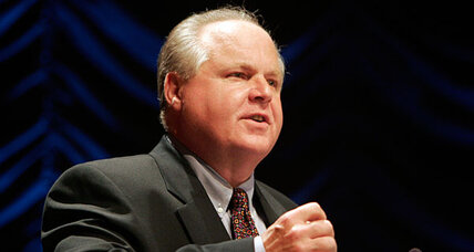 Does Rush Limbaugh belong on armed forces radio? Criticism mounts.