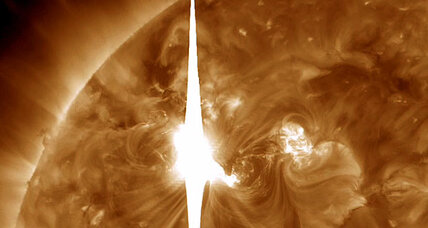 Solar storm could become severe 'bell ringer' in next 24 hours (+video)