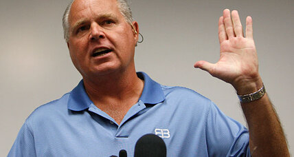 Why did Rush Limbaugh defend Joseph Kony and Lord's Resistance Army?