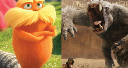 'John Carter' trumped by $39.1M weekend for 'The Lorax'