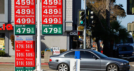 Obama trails Romney in new poll. Are gas prices the key?