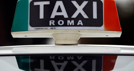 To reboot Italy's economy, Monti takes on the cabbies
