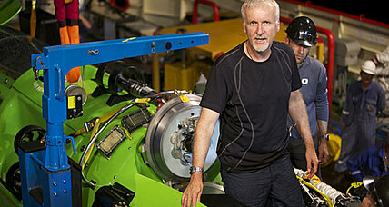 James Cameron describes deepest spot in ocean as 'barren'