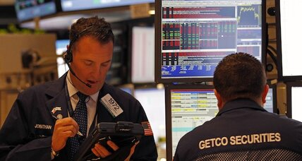 Stocks mixed; Dow erases last week's huge loss