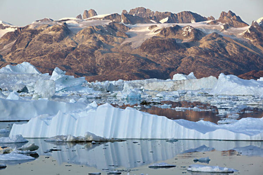 greenland u0026 39 s ice sheet  climate change outlook gets a