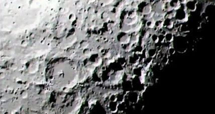 How did the moon get there? NASA videos explain.
