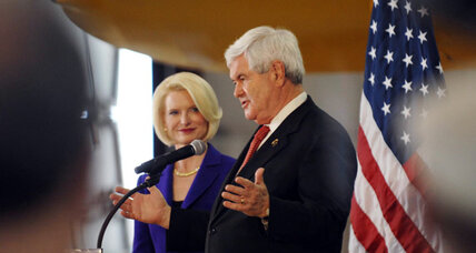 Gingrich, running a distant third, will not withdraw from race