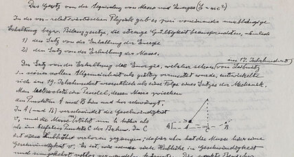 Albert Einstein papers show physicist as lover, dreamer (+video)