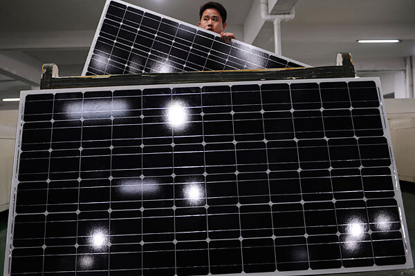 China Subsidized Solar Panels Us Finds Are Tariffs The