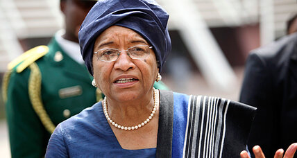 Liberia's President Sirleaf defends country's anti-gay laws