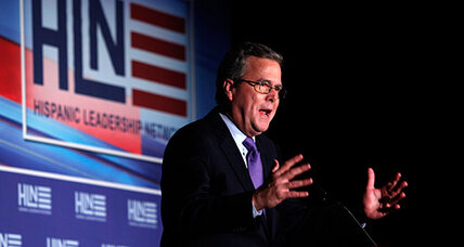 Jeb Bush endorsement adds to Mitt Romney aura of inevitability