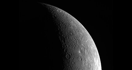 Strange features on Mercury upend thinking about 'first rock from sun'