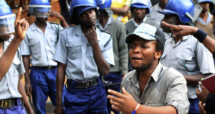 Zimbabwe activists sentenced for watching Arab Spring video