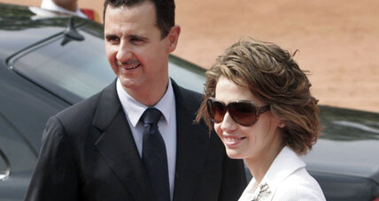 Asma Assad, Syria's first lady, faces sanctions, contempt