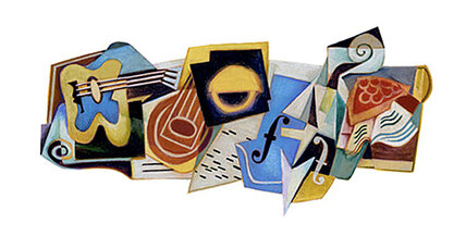 'The Cubist's Cubist:' Juan Gris honored with Google doodle
