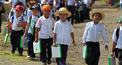 In Nicaragua, teachers make only half as much as market vendors