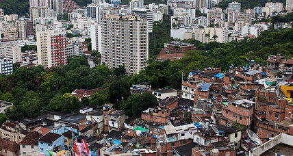 Problem in securing Rio slums? Announcing police arrival ahead of time.
