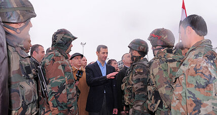 As Syria's war rages, Assad bans military-age men from leaving