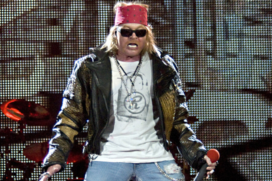 Axl Rose and your investment team - CSMonitor com