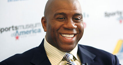 Magic Johnson, basketball legend, is now a Dodgers owner